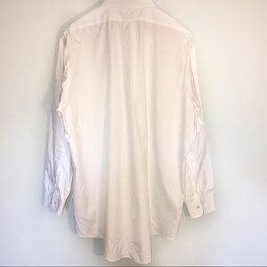Brooks Brothers white button down dress shirt